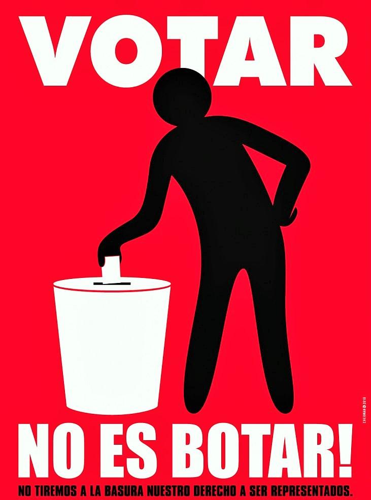 Votar-no-es-botar-por