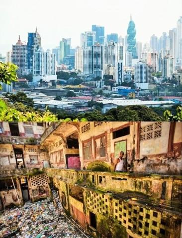 PANAMÁ CONTRASTES