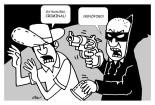 Caricatura tomada del diario la Prensa