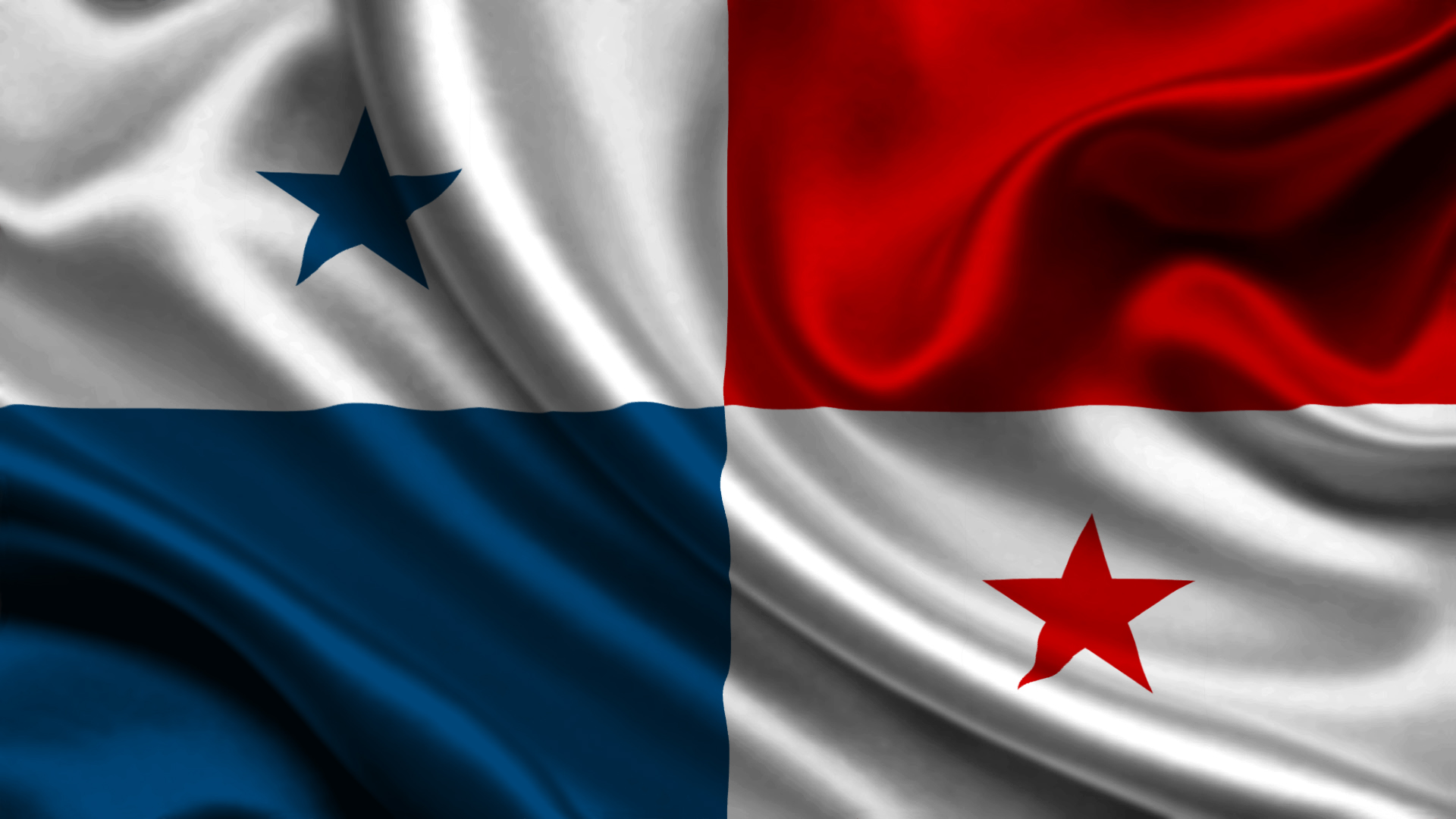 Panama-Flag-Wallpaper